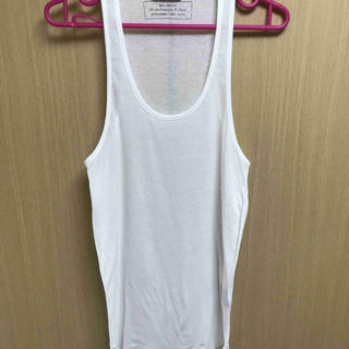バルマン(BALMAIN)の国内正規 14SS BALMAIN バルマン タンクトップ 白 XS(Tシャツ/カットソー(半袖/袖なし))