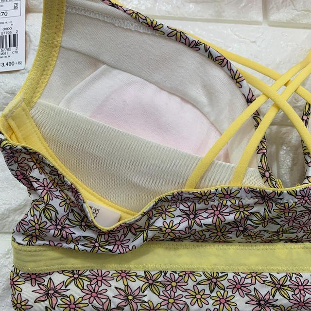 AMO'S STYLE(アモスタイル)のヴィンテージディッツィープリント夢みるブラノンワイヤー上下セット アモスタイル  レディースの下着/アンダーウェア(ブラ&ショーツセット)の商品写真