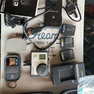 GoPro - GoPro HERO3 フルセット リモコン、アクセサリー付き