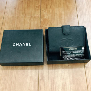 CHANEL - CHANEL 2つ折り財布 正規品