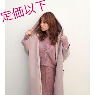 rienda - ❤️【送料込】rienda☆ MIX Cable Knit OP☆新品未使用