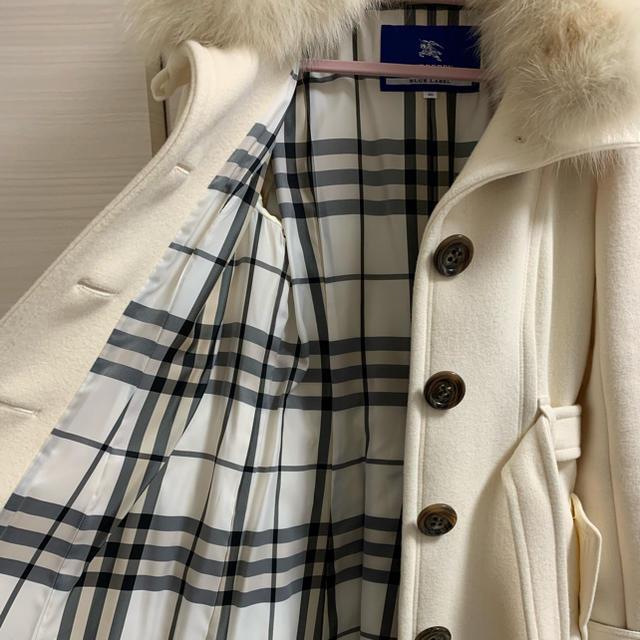 BURBERRY BLUE LABEL(バーバリーブルーレーベル)のBURBERRYコート レディースのジャケット/アウター(ピーコート)の商品写真