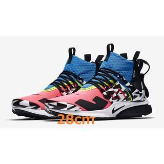 NIKE - ACRONYM x Nike Air Presto Mid Racer Pink