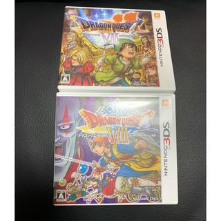 ニンテンドー3DS(ニンテンドー3DS)のドラゴンクエスト8 3DS セット まとめ売り ドラクエ7(携帯用ゲームソフト)