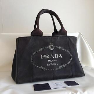 PRADA - 正規品 PRADA プラダ バッグ カナパ 黒色