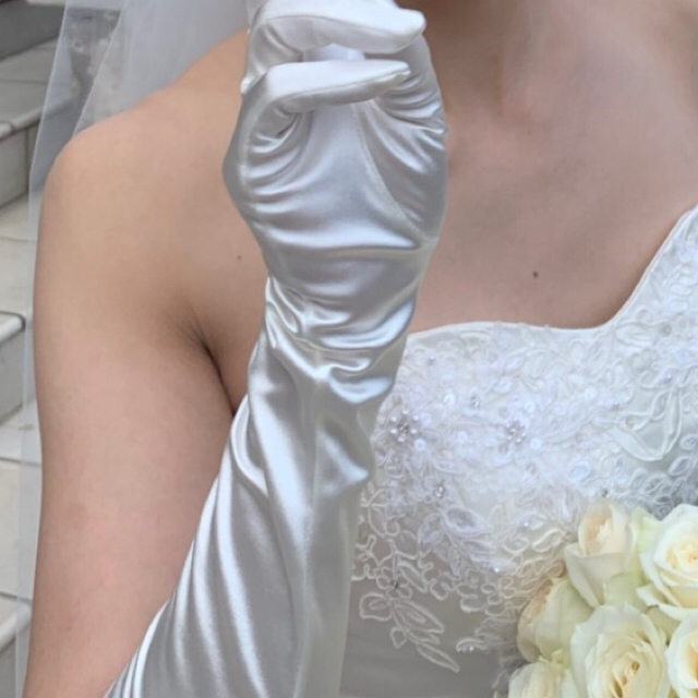 TAKAMI(タカミ)のアニ嫁 タカミブライダル ロンググローブ  レディースのファッション小物(手袋)の商品写真
