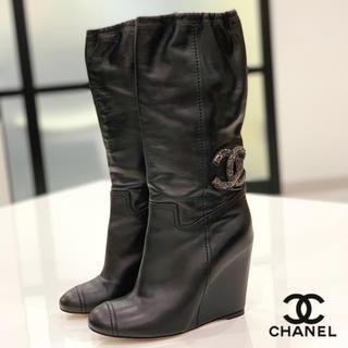 CHANEL - 1273 CHANEL ココマーク ブーツ