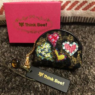 Think Bee! - Think Bee!アニマルハート ミニポーチ 未使用