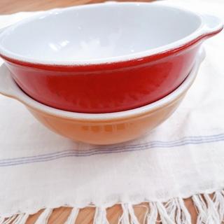 エミールアンリ(EmileHenry)のフランス エミールアンリ スープボウル2個(食器)