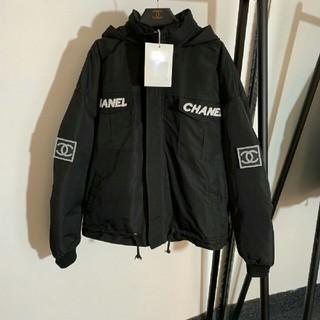 CHANEL - 美品シャネル Chanel  人気 ジャケット ブルゾン 正規品 黒