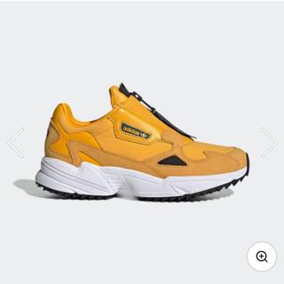 アディダス(adidas)のアディダス adidas ファルコン ジップ イエロー 23.5㎝(スニーカー)
