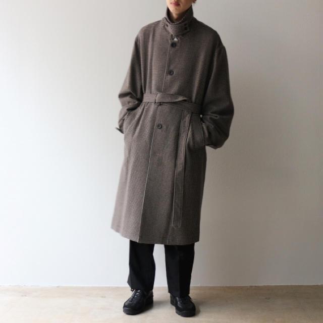 COMOLI(コモリ)のstein coat ssize メンズのジャケット/アウター(ステンカラーコート)の商品写真