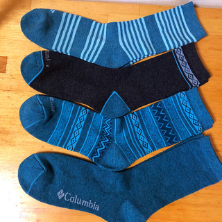 Columbia - 最新作Columbia コロンビアメンズ 靴下 ソックス  4足セット