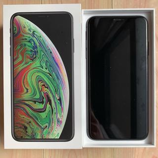 アイフォーン(iPhone)のiPhone XS Max 256GB Space Gray SIMフリー(スマートフォン本体)