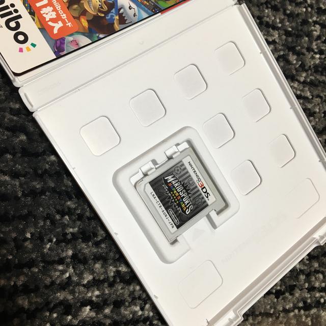 ニンテンドー3DS(ニンテンドー3DS)のマリオスポーツスーパースターズ amiiboカード有 ケース有 エンタメ/ホビーのゲームソフト/ゲーム機本体(家庭用ゲームソフト)の商品写真
