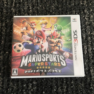 ニンテンドー3DS(ニンテンドー3DS)のマリオスポーツスーパースターズ amiiboカード有 ケース有(家庭用ゲームソフト)