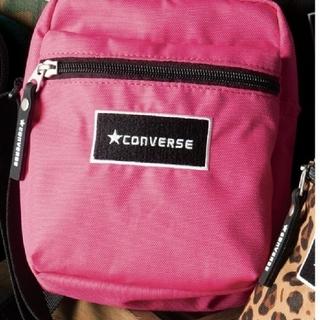 コンバース(CONVERSE)の新品 未開封 CONVERSE サコッシュショルダーバッグ ピンク(ショルダーバッグ)