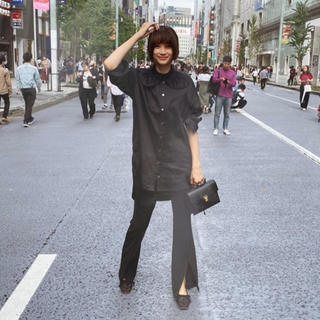 Noble - coel*コエル新品ワイドカラー裾リボンシャツ