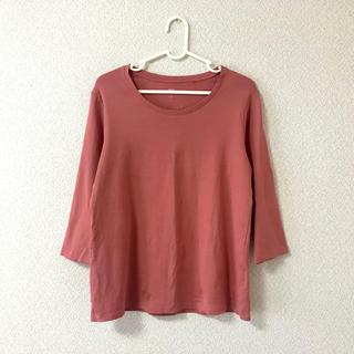 ユニクロ(UNIQLO)のUNIQLO コットンTシャツ(Tシャツ(長袖/七分))