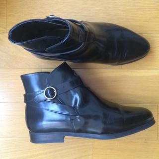 ジーヴィジーヴィ(G.V.G.V.)のイタリア製 BALLYの黒ショートブーツ(ブーティ)