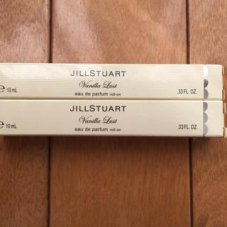 ジルスチュアート(JILLSTUART)のジルスチュアート ヴァニラ ラスト ロールオン 10ml 2本セット(香水(女性用))