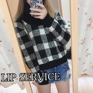 LIP SERVICE - 46✧LIP SERVICEニット【F】