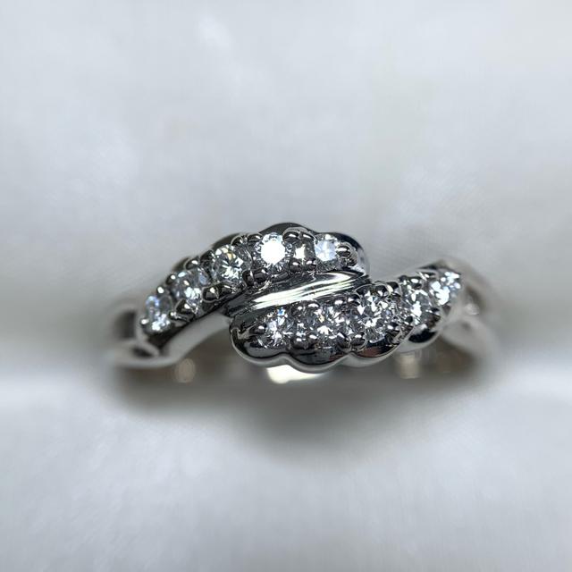 POLA(ポーラ)のポーラ pt900 diamond ring レディースのアクセサリー(リング(指輪))の商品写真