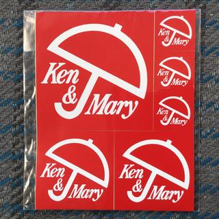 ニッサン(日産)の日産 スカイライン SKYLINE ケンメリ Ken&Mary ステッカー(ミニカー)