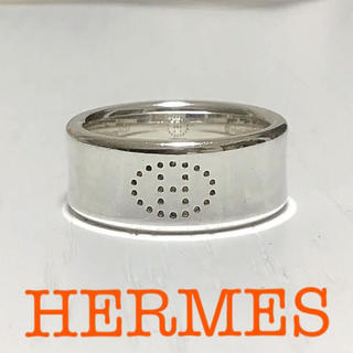 Hermes - 本日価格☆正規品☆HERMÈS シルバーリング エクリプス エブリン
