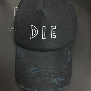 エルエイチピー(LHP)のAZS TOKYO/DIE CAP(キャップ)