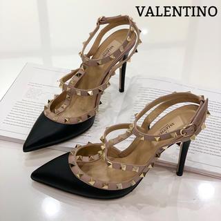 ヴァレンティノ(VALENTINO)の1215 ヴァレンティノ スタッズ パンプス(ハイヒール/パンプス)