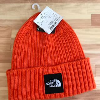 THE NORTH FACE - THE NORTH FACE オレンジニット帽