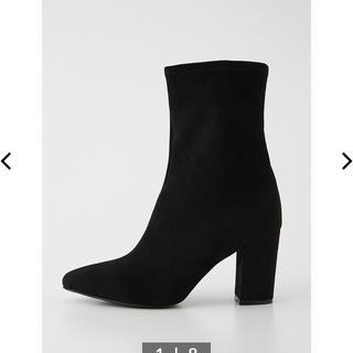rienda - ★リエンダ今季新作 slim fit midi bootsブラック Sサイズ★