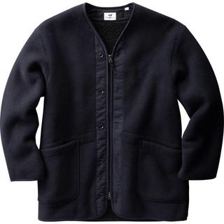 ユニクロ(UNIQLO)のUNIQLO×Engineered Garments フリースノーカラーコート(ノーカラージャケット)