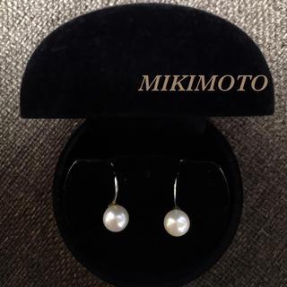 MIKIMOTO - ミキモト本真珠イヤリング