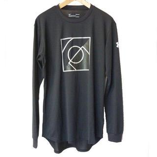 アンダーアーマー(UNDER ARMOUR)の大きいサイズ新品タグ付きXL●アンダーアーマー 黒ロンT(Tシャツ/カットソー(七分/長袖))