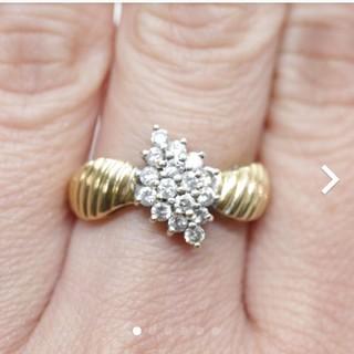 トクトクジュエリー ダイヤモンド 18金 リング
