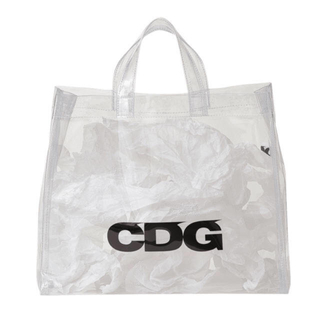 COMME des GARCONS - CDG PVC クリア トートバッグ スケルトン 透明