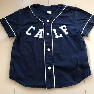 プティマイン(petit main)のpetit main  プティマイン キッズ boy   シャツ サイズ110 (Tシャツ/カットソー)