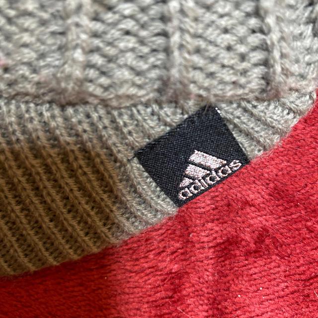 adidas(アディダス)のアディダス ニットキャップ(グレー) レディースの帽子(ニット帽/ビーニー)の商品写真