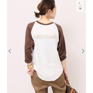DEUXIEME CLASSE - AMERICANA BASE BALL Tシャツ