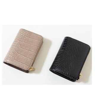 しまむら - プチプラのあや 財布 クロコ  2個セット