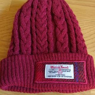Harris Tweed - ニット帽子