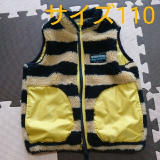 F.O.KIDS - ♡F.O.KIDS リバーシブルベスト 110cm