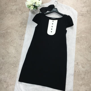 FOXEY - 【美品】FOXEY フォクシー タキシード ドレス ワンピース 40