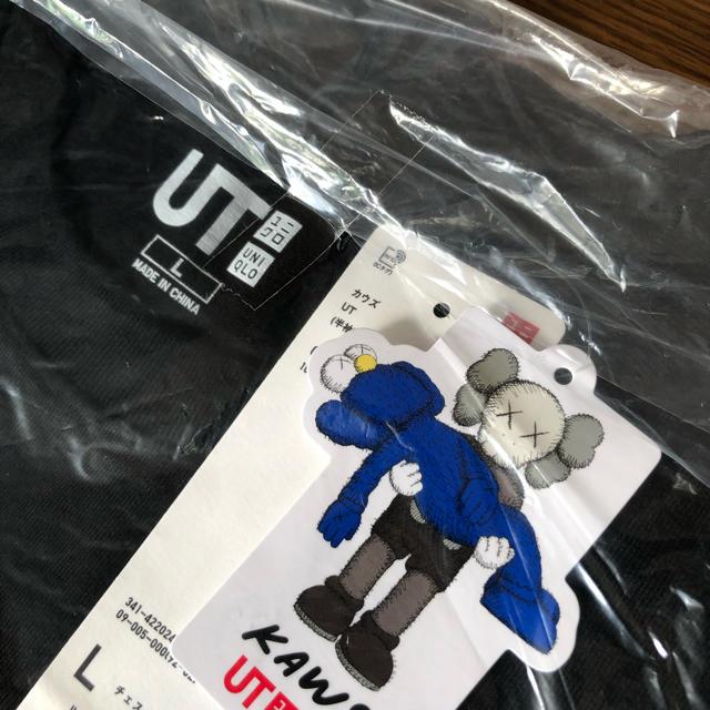 UNIQLO(ユニクロ)の【新品】KAWS × UNIQLO UT 2019年コラボTシャツ L 送料無料 メンズのトップス(Tシャツ/カットソー(半袖/袖なし))の商品写真