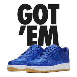 NIKE - NIKE AIR FORCE1 PRM/CLOT