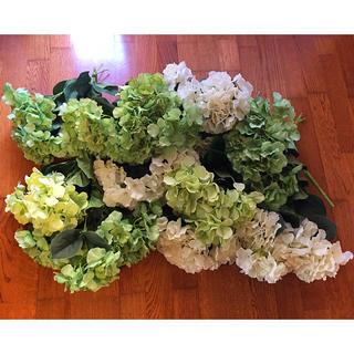 フランフラン(Francfranc)のウェルカムスペース  結婚式 アジサイ 造花(ウェルカムボード)