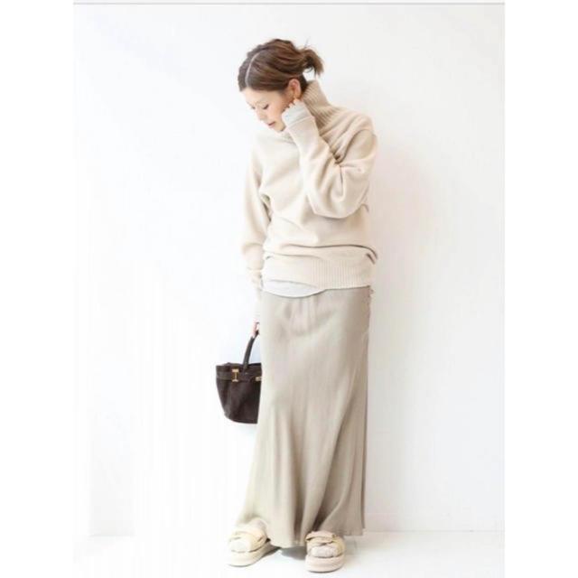 DEUXIEME CLASSE(ドゥーズィエムクラス)のドゥーズィエムクラス購入 ミドルゲージタートル  レディースのトップス(ニット/セーター)の商品写真