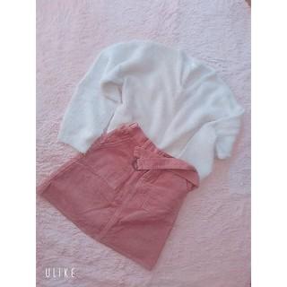レトロガール(RETRO GIRL)のピンクのスカート(ひざ丈スカート)